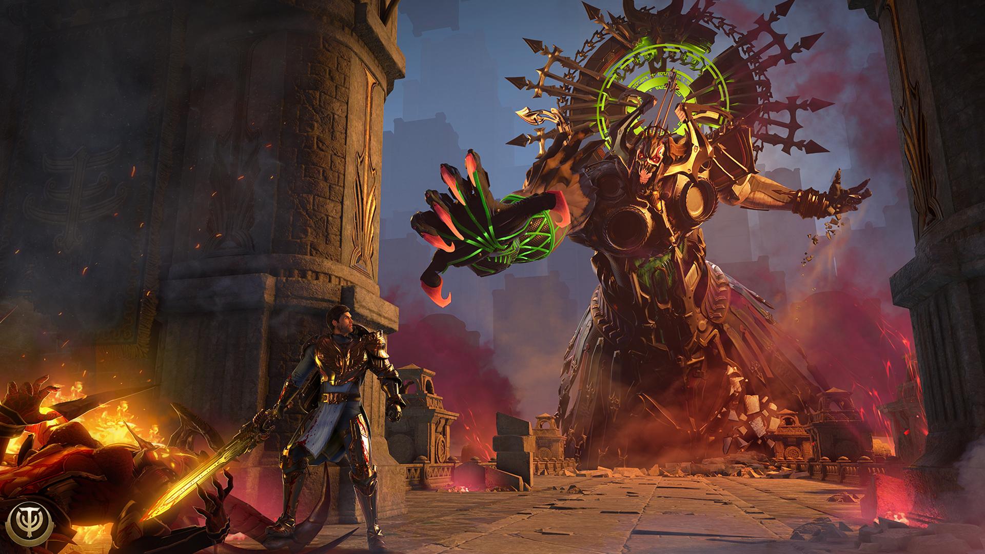 Игра Skyforge скоро появится на Xbox One
