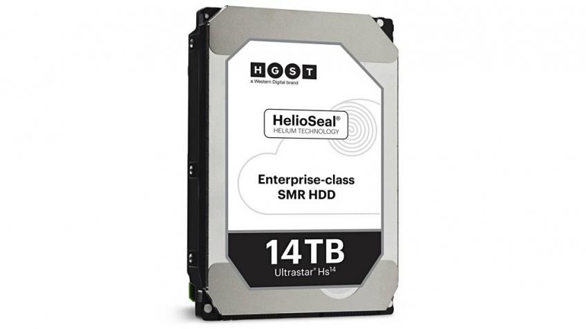 Western Digital представила жёсткий диск объёмом в 14 ТБ