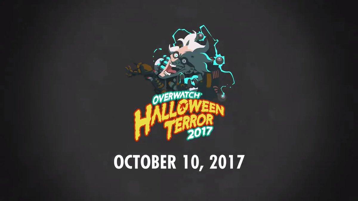 Хэллоуин в Overwatch начнется 10 октября