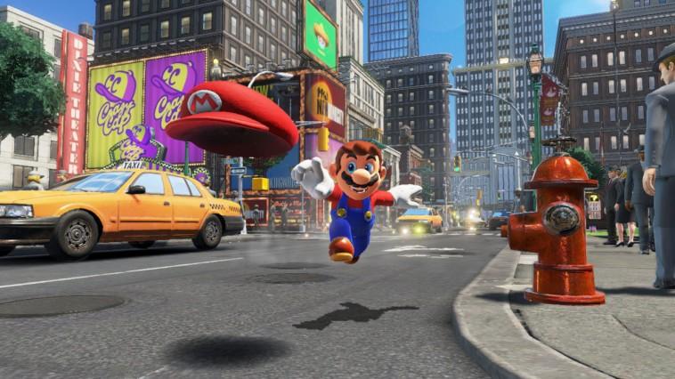 Новый трейлер Super Mario Odyssey посвящен кооперативному режиму