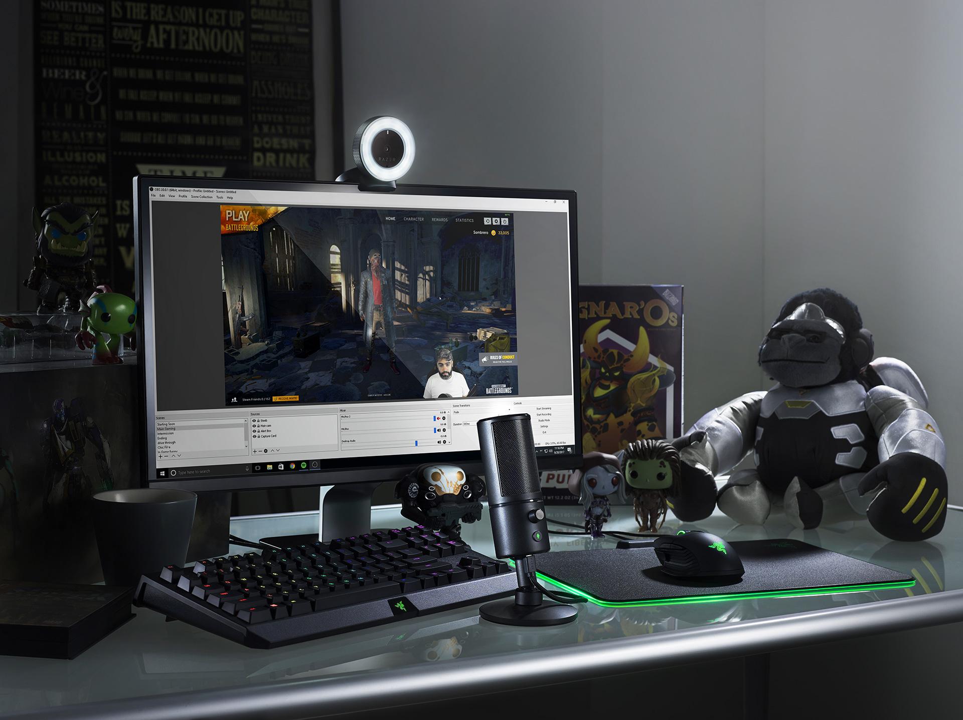 Компания Razer представила свою линейку оборудования для стриминга