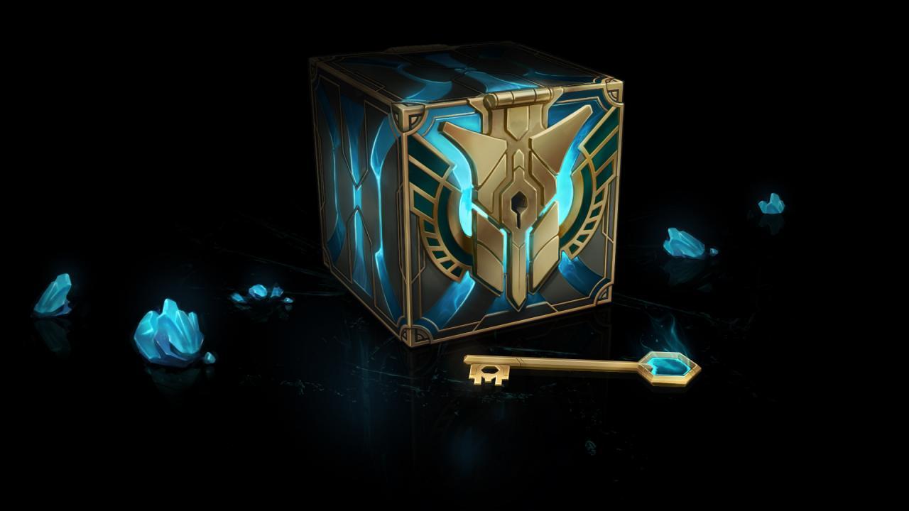 Шансы выпадения предметов из сундуков в League of Legends