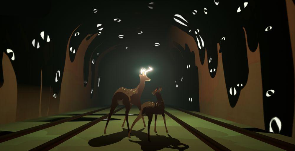 Первый трейлер приключенческой игрыWay to the Woods