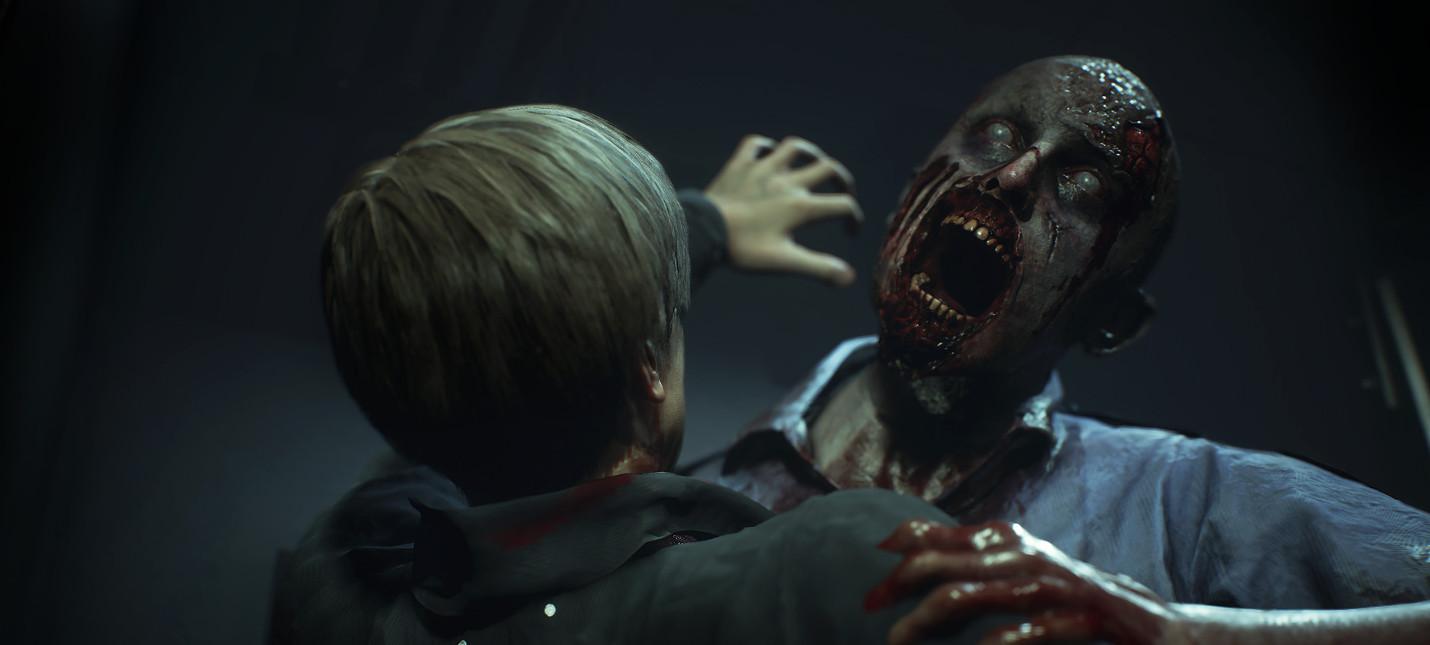 У ремейка Resident Evil 2 появился сайт со статистикой игроков