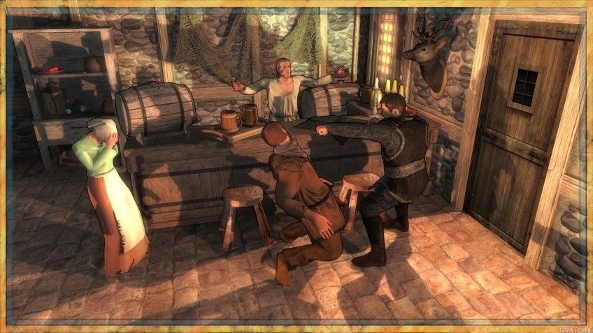 Десять минут игрового процесса Crossroads Inn