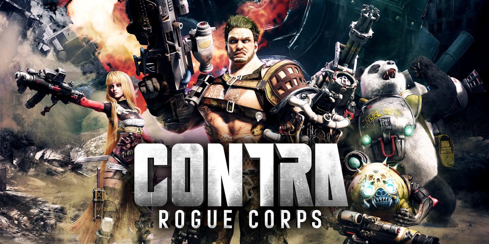 Разработчики Contra: Rogue Corps показали кооперативный режим