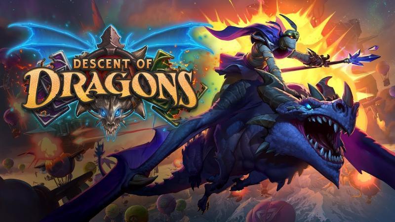 Новые карты из дополнения «Натиск драконов» для Hearthstone