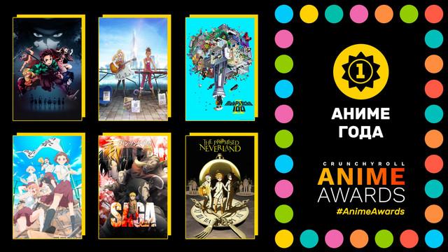 Обьявлен список номинантов на премию Anime Awards 2020