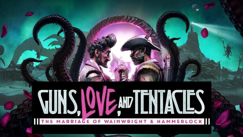 Геймплей дополнения Guns, Love и Tentacles: Marriage of Wainwright and Hammerlock для Borderlands 3