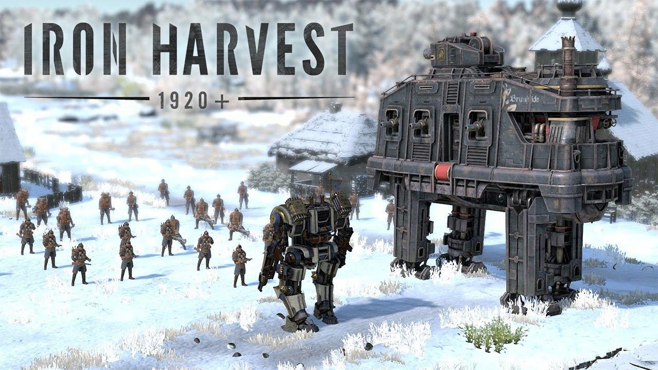 Опубликован сюжетный трейлер для Iron Harvest