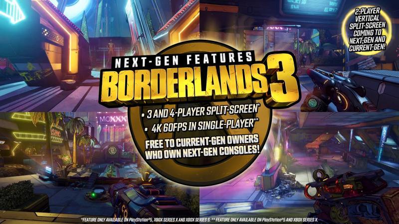 Borderlands 3 обновят на PlayStation 5 и Xbox Series