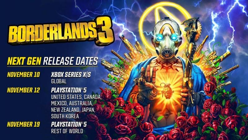 Обновленная версия Borderlands 3 на новые консоли выйдет в момент начала продаж консолей