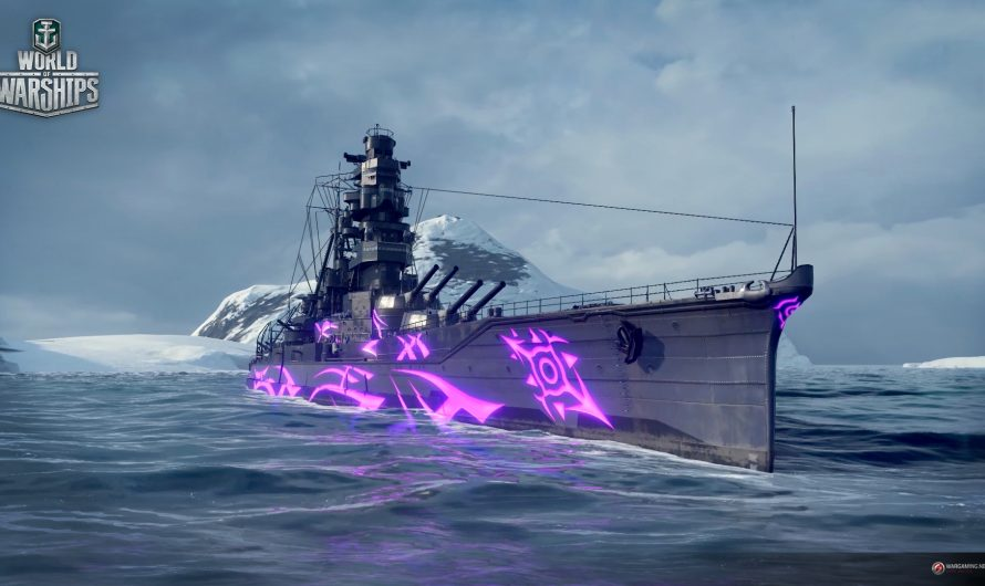 В World of Warships стартовала коллаборация с Arpeggio of Blue Steel