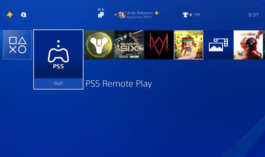 Sony выпустила приложение Remote Play