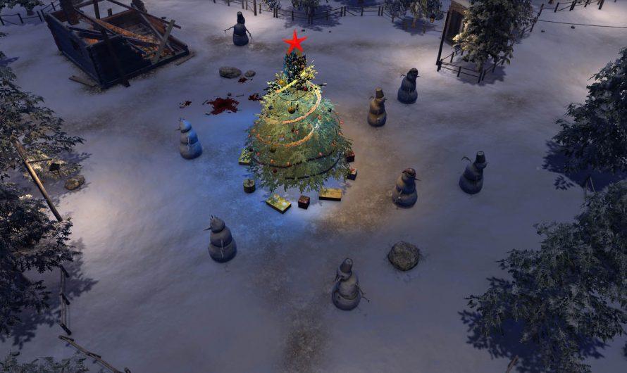 """В ATOM RPG начался праздничный ивент """"Бойня снеговиков в Ущелье бед"""""""