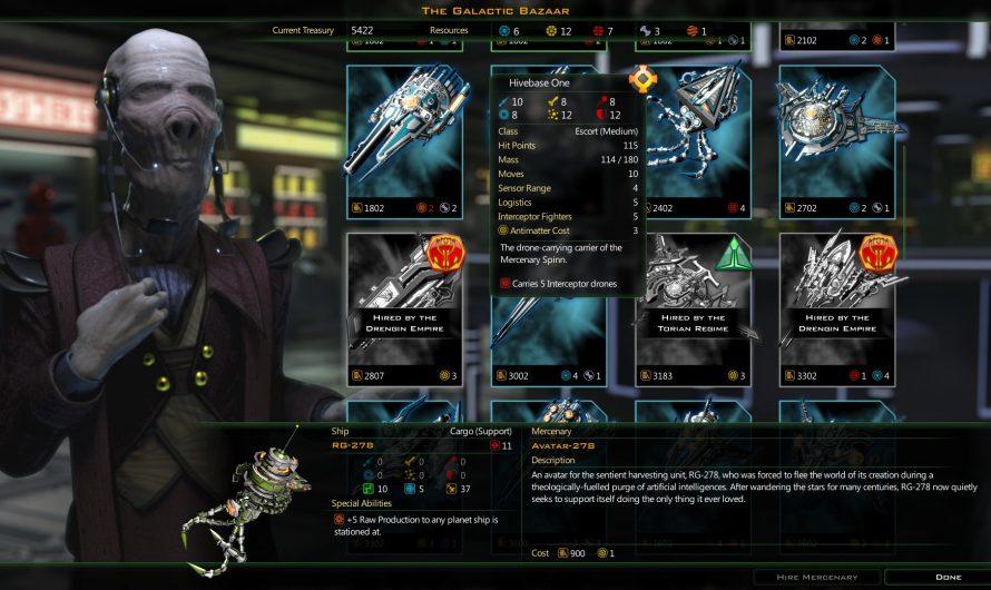 В Epic Games Store стартовала бесплатная раздача Galactic Civilizations III