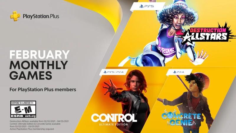 Февральская подборка бесплатных игр для подписчиков PS Plus