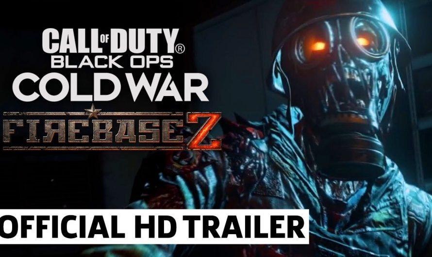 Трейлер с картой Firebase Z для зомби режима Call of Duty: Black Ops Cold War