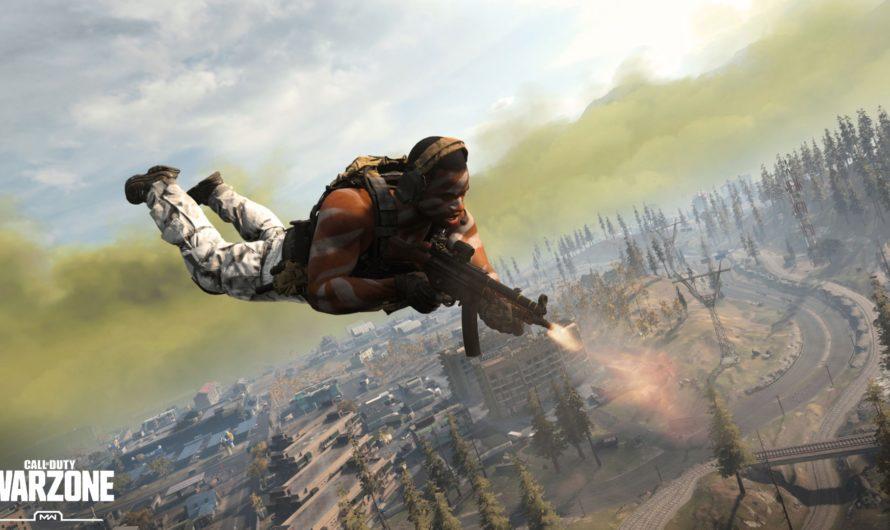 В Warzone можно получить первое место не долетев до земли