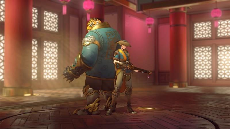 """В Overwatch стартовало тематическое мероприятие """"Лунный Новый год"""""""