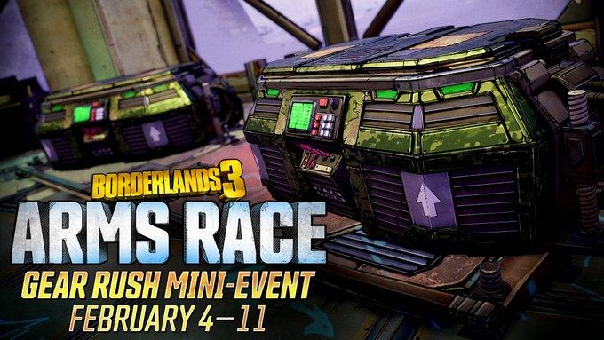 Финальное мини-событие Гонки вооружений в Borderlands 3 уже стартовало