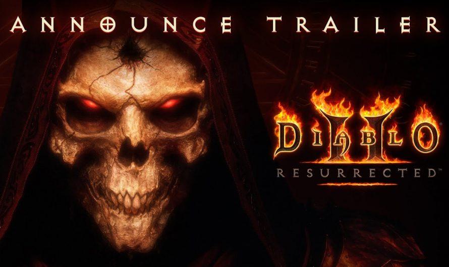 Состоялся официальный анонс переиздания Diablo II – Diablo II: Resurrected