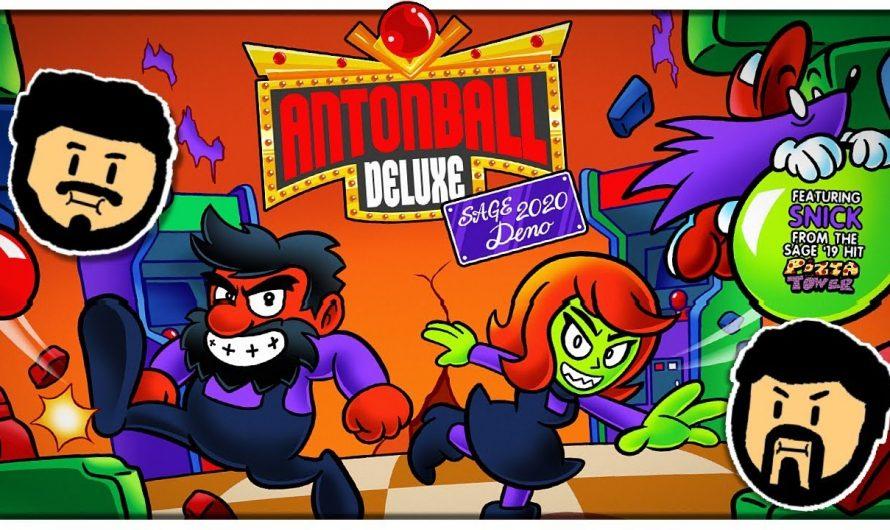 Релиз Antonball Deluxe состоится 5 марта 2021 года