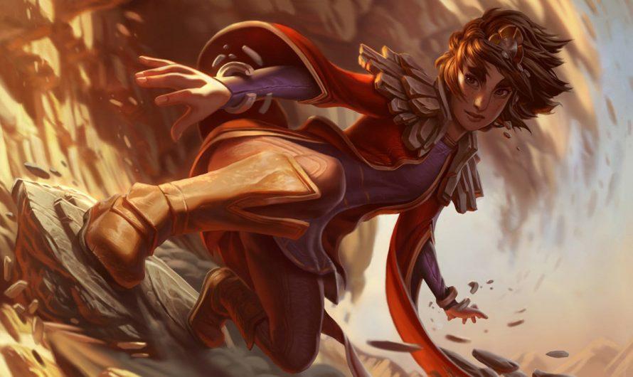 Лиссандра и Талия готовятся к появлению в  Legends of Runeterra