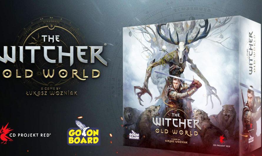 CD Projekt RED представила настольную игру The Witcher: Old World