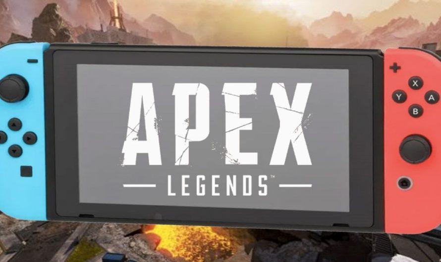 Трейлер к грядущему выходу Apex Legends на Nintendo Switch