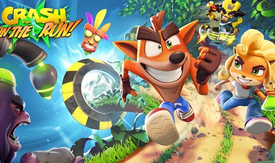 Crash Bandicoot: On the Run выходит 25 марта