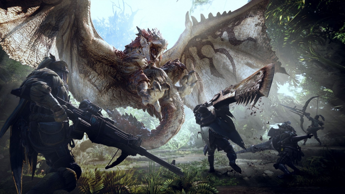 В игре Monster Hunter World пройдёт открытое бета-тестирование