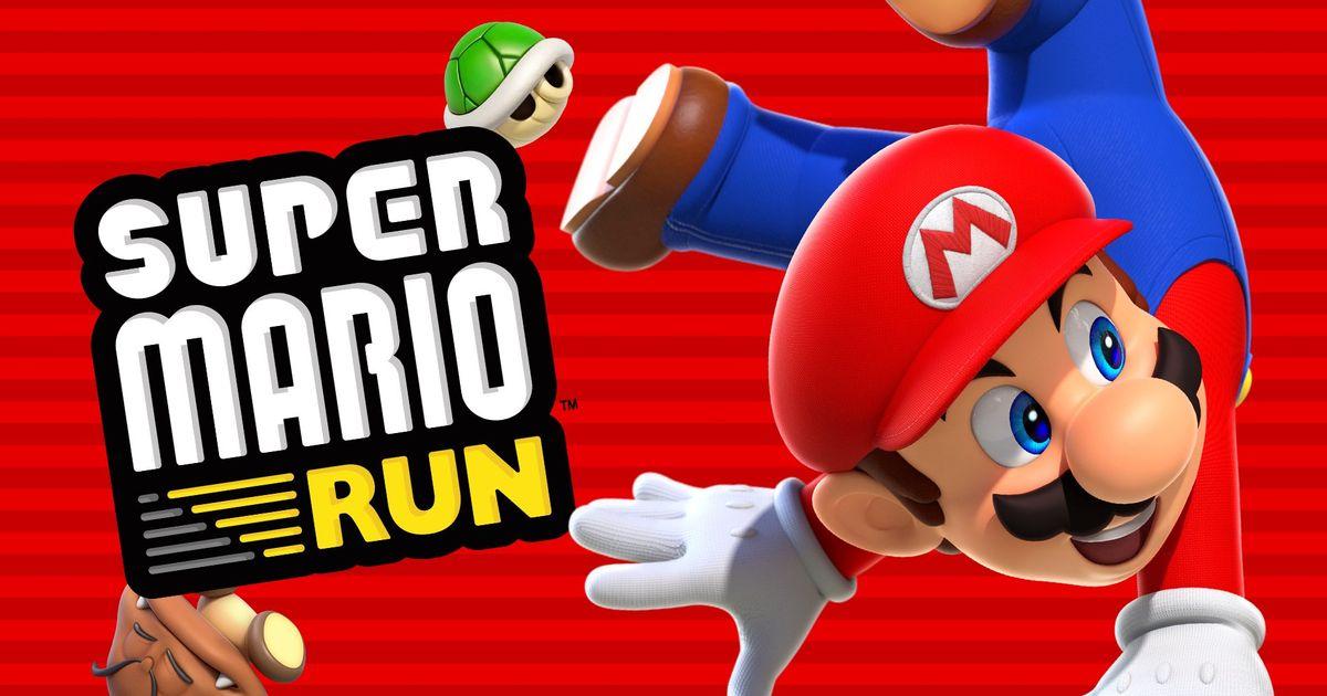 Super Mario Run скачали больше 200 миллионов раз