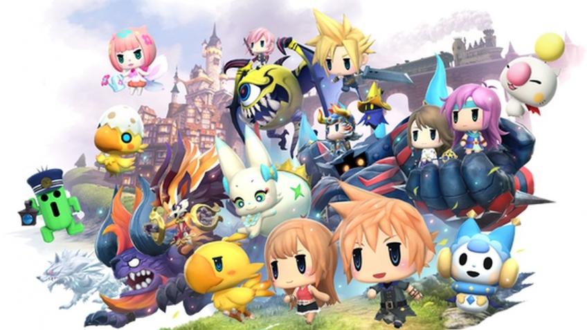 Игра World of Final Fantasy появится на РС в ноябре