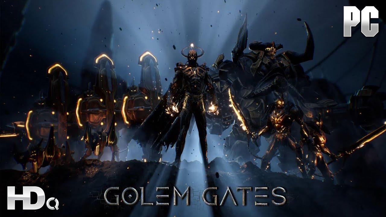 Разработчики Golem Gates обьявили дату старта раннего доступа к игре