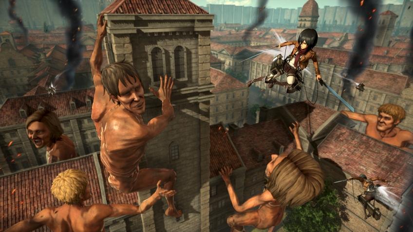 Koei Tecmo обьявила точную дату релиза Attack on Titan 2