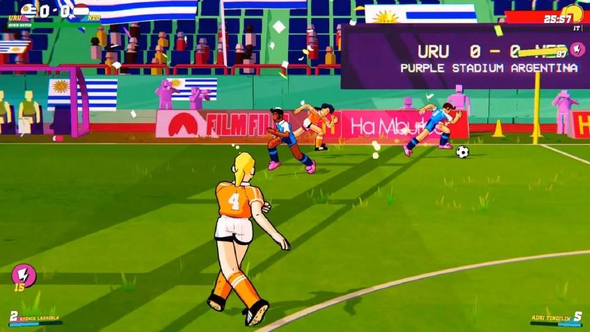 Футбольная аркада Golazo! появится на PS4 и Xbox One