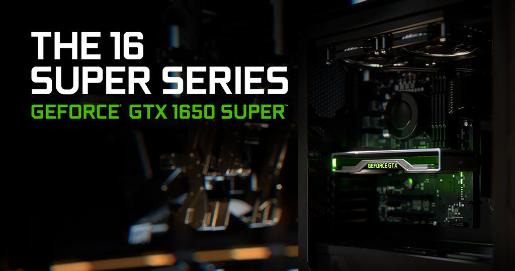 Компания Nvidia представила GTX 1650 Super