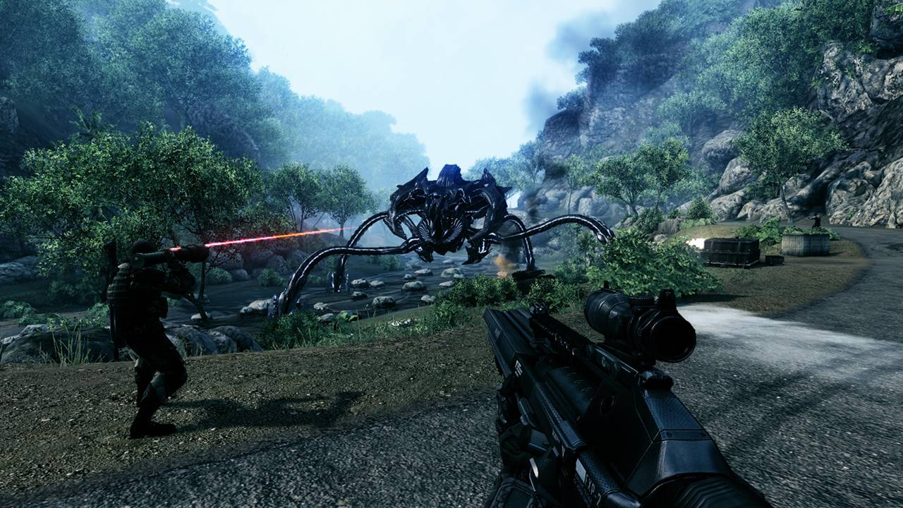 Новые подробности о Crysis Remastered для Nintendo Switch