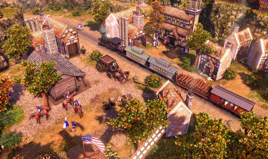 Новый геймплей ремастера стратегии Age of Empires III.