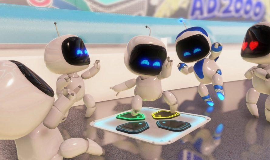 Геймплея платформера Astro's Playroom с PS5