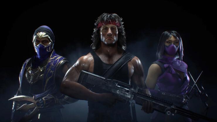 Еще один трейлер Рэмбо для Mortal Kombat 11