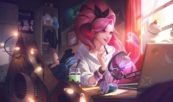 Серафина станет новым героем в League of Legends и членом группы K/DA