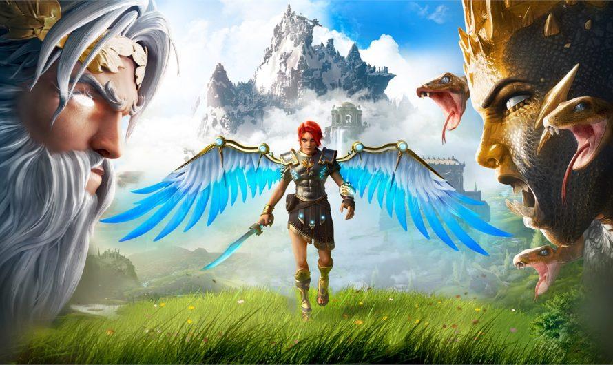 Новый геймплей и подробности экшена Immortals Fenyx Rising