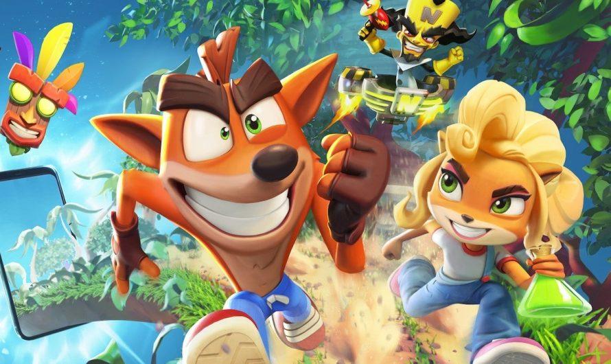 Мобильная Crash Bandicoot: On the Run появится в 2021 году