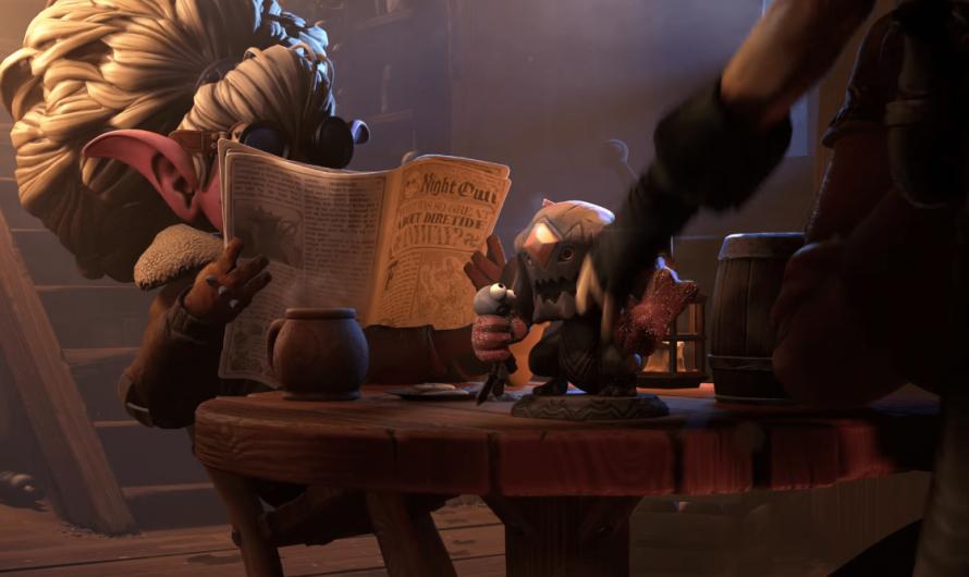 Valve возможно затизерила нового чемпиона для Dota 2