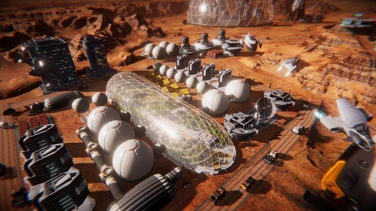 PlayWay анонсировала градостроительную стратегию Mars Colony Builder