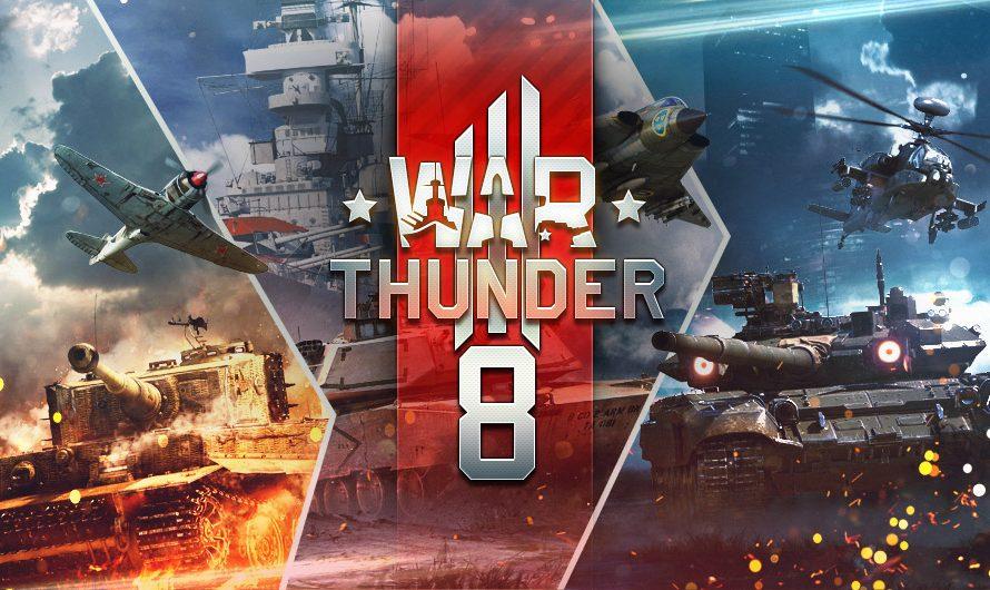 War Thunder исполнилось 8 лет