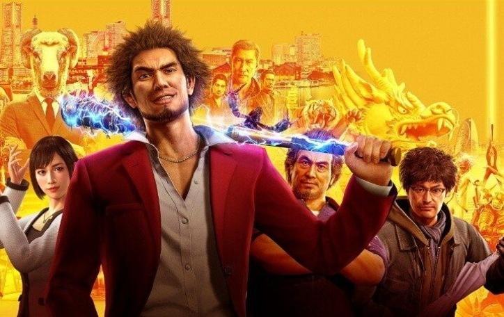 Геймплей Yakuza: Like a Dragon с Xbox Series X