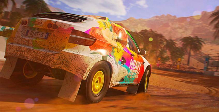 Dirt 5 продемонстрировали на Xbox Series X